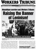 Workers Tribune No. 1